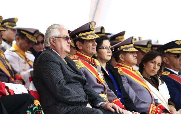 Ministro Fernando Cordero suscribió el acuerdo. Foto: Flickr / Ministerio de Defensa
