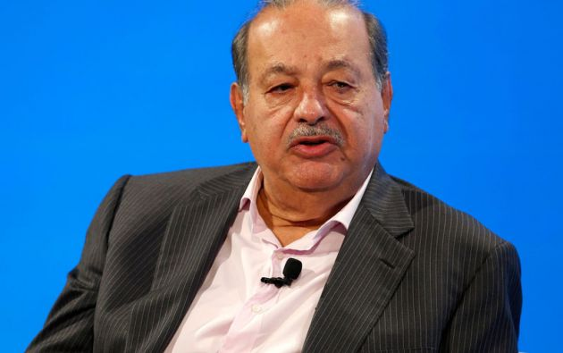 El mexicano Carlos Slim continúa en el segundo lugar de la lista con una fortuna de 77.100 millones. Foto: REUTERS