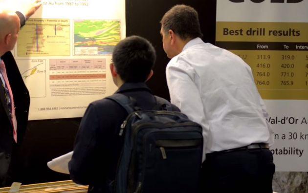 En 2014, la feria de PDAC atrajo a 25.122 asistentes de más de 100 países.