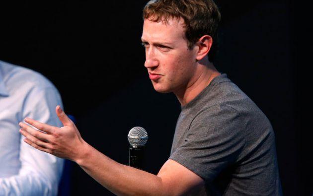 El fundador de Facebook, Mark Zuckerberg, ingresa por primera vez al Top 20, con una fortuna personal estimada en 33.400 millones. Foto: REUTERS