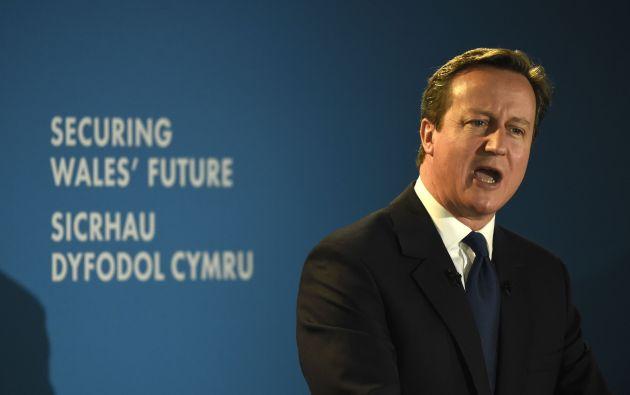 Primer ministro británico, David Cameron. Foto: REUTERS
