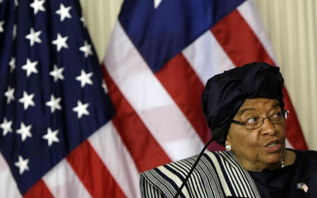 Presidente de Liberia, Ellen Johnson Sirleaf. Foto: REUTERS