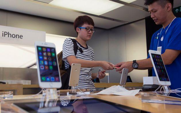 El nuevo iPhone volvió a posicionar a Apple como el mayor vendedor de smartphones en el mundo. Foto: REUTERS