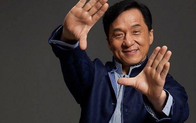 Jackie Chan. Foto: Facebook