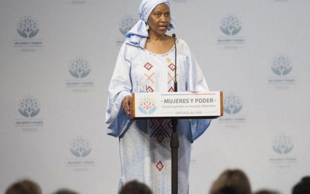 Phumzile Mlambo-Ngcuka, directora ejecutiva de ONU Mujeres. Foto: AFP
