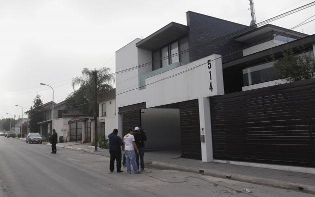 Casa de Omar Treviño, donde fue detenido. Foto: REUTERS