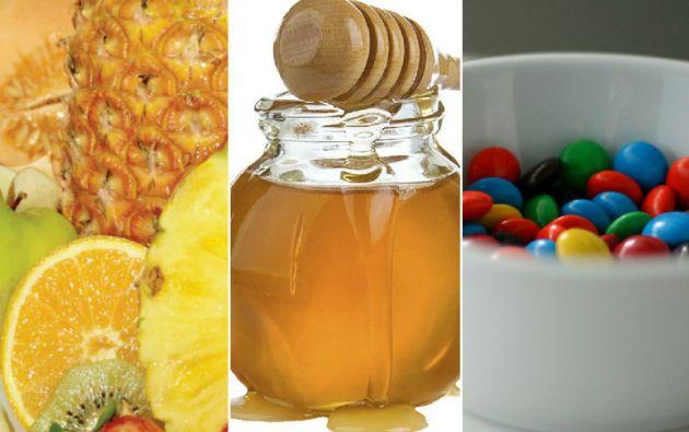 Cuando se habla de azúcares se incluye tanto el azúcar puro que se consume tradicionalmente para edulcorar el café como la fructosa, la glucosa y otros productos que se usan para endulzar los alimentos o las bebidas, además de los azúcares presentes en la miel y los zumos de frutas.