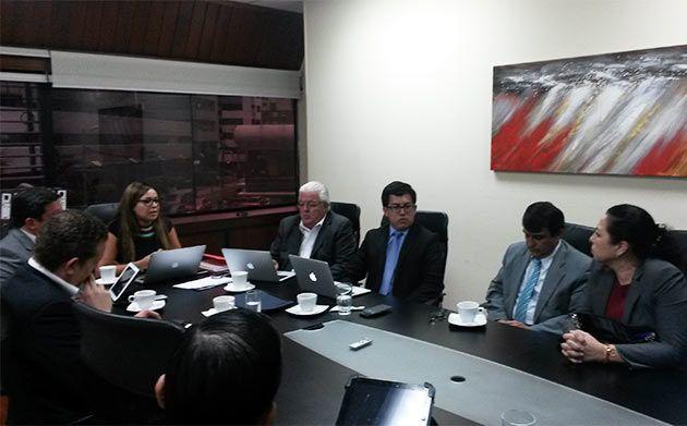 Comisión Interinstitucional. Foto: Justicia Ecuador