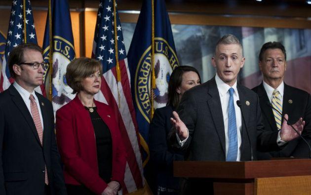 El republicano Trey Gowdy. Foto: AFP