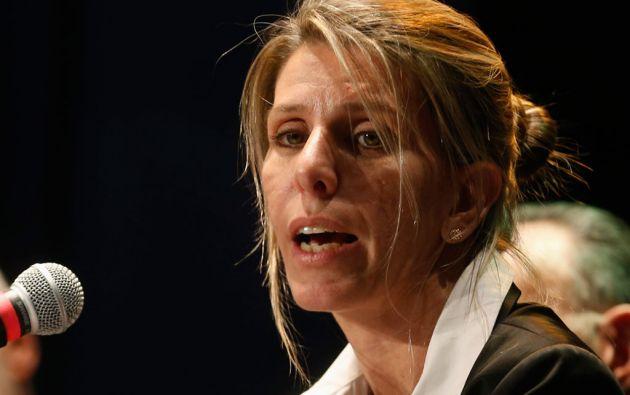 """La muerte """"violenta"""" de Nisman constituye un """"hecho criminal de magnitud"""", insiste su exmujer, la jueza Sandra Arroyo Salgado. Foto: REUTERS"""