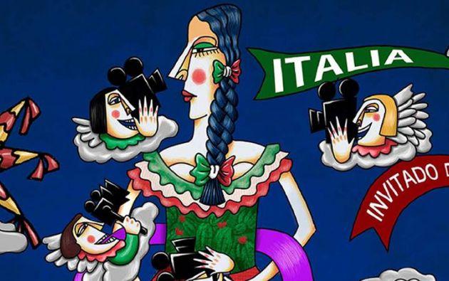 Afiche promocional del festival. Foto: Facebook / FICG