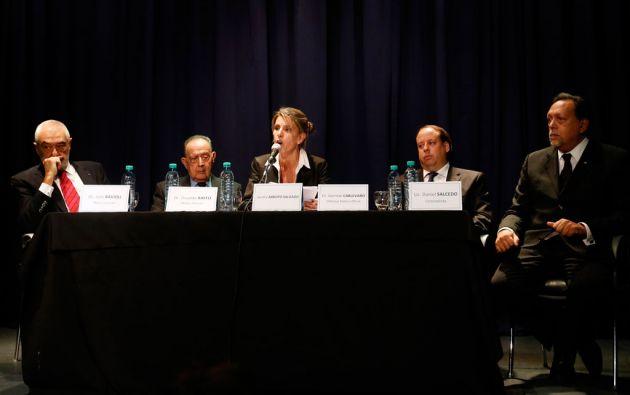 El informe está basado en el análisis de evidencias en la vivienda donde murió Nisman, la autopsia e imágenes tomadas por la Policía y la Prefectura. Foto: REUTERS
