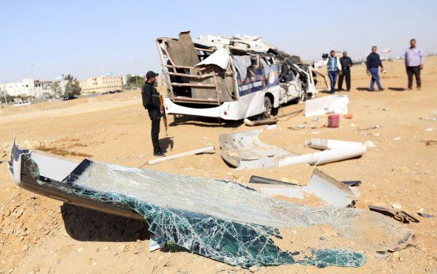 Los fallecidos son cuatro niños, dos profesores y el conductor del autobús, según fuentes de los Ministerios del Interior y de Sanidad. Fotos: REUTERS