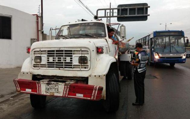 Foto: Comisión de Tránsito Ecuador