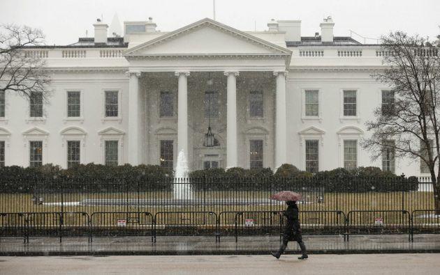 Vista de la Casa Blanca. Foto: REUTERS