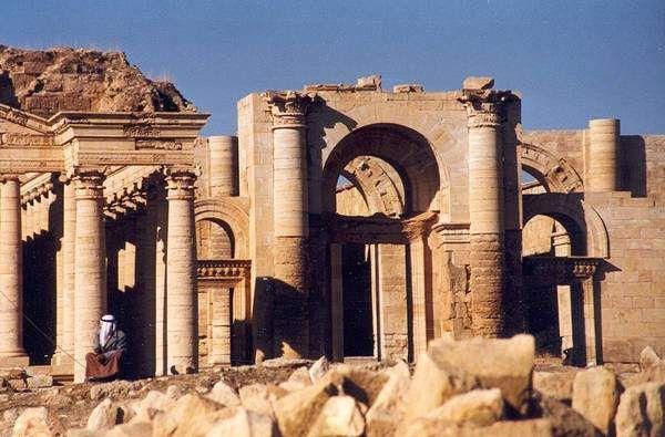 Las ruinas de Hatra, en Irak. Foto: Wikipedia