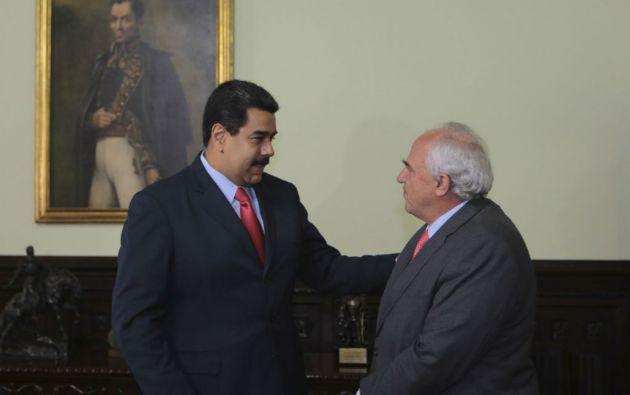 Samper reveló que Nicolás Maduro pidió una segunda visita de los cancilleres de Unasur. Foto: REUTERS