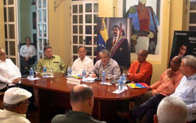 Foto: Embajada de Venezuela en La Habana.