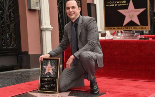 Jim Parsons ha ganado un Globo de Oro y cuatro premios Emmy por su interpretación de Sheldon Cooper. Foto: AFP