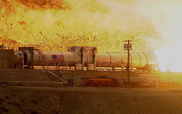 El SLS realizará su primer vuelo de prueba en 2018 y lanzará en esta ocasión la cápsula no tripulada Orión. Fotos: Twitter / NASA