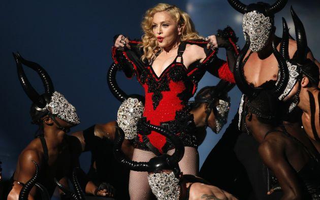 Madonna durante su presentación en la edición 57 de los Grammy. Foto: Archivo / REUTERS