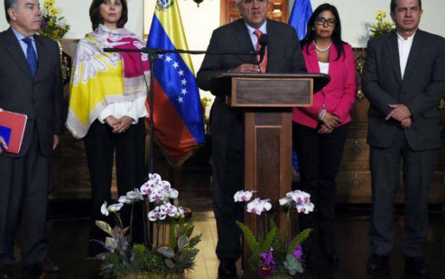 La reuniòn de cancilleres se realizará en la sede de la Unasur en Quito. Foto: AFP