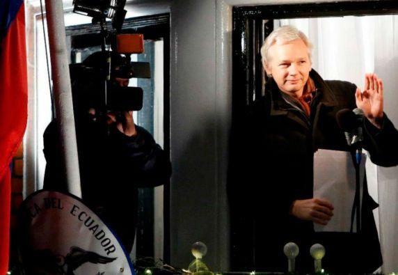 El fundador de WikiLeaks pidió refugio el 19 de junio de 2012. Foto: REUTERS
