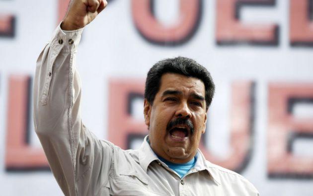 """El presidente Nicolás Maduro afirmó que la decisión de EE.UU. de calificar a Venezuela como una """"amenaza"""", le va a costar """"muy caro"""". Foto: REUTERS"""