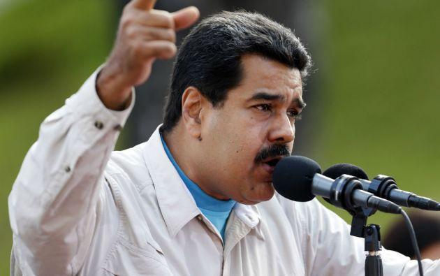 """Maduro sostuvo que Barack Obama es """"desinformado"""" por su equipo sobre la situación de Venezuela. Foto: REUTERS"""