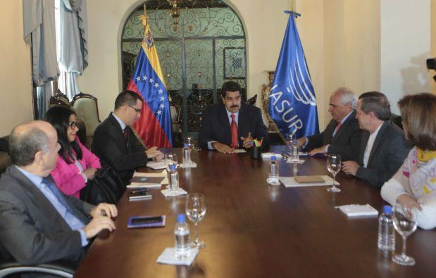 Los cancilleres de la Unasur analizarán lasituación en Venezuela y las reacciones de EEUU. Foto: REUTERS