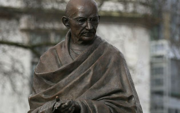 Este año se cumple un siglo desde que Gandhi regresó a India desde Sudáfrica para liderar el movimiento a favor de la independencia del Reino Unido. Foto: REUTERS