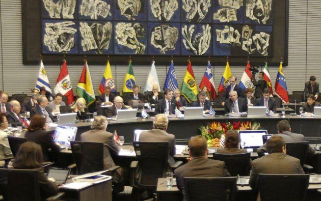 """La Unasur expresó que la situación de Venezuela debe """"ser resuelta por mecanismos democráticos"""" previstos en su Constitución. Foto: REUTERS"""