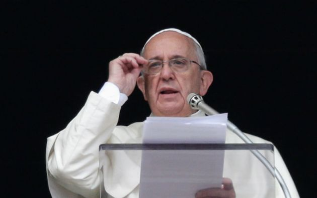 Francisco dijo que en algunas partes del mundo los cristianos son perseguidos por el simple hecho de profesar su fe. Foto: REUTERS