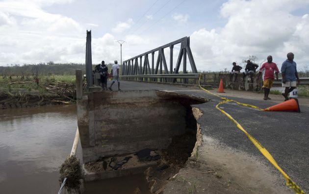 El ciclón golpeó fuertemente a Vanuatu. Muchas personas perdieron sus casas, que quedaron en escombros. Fotos: REUTERS