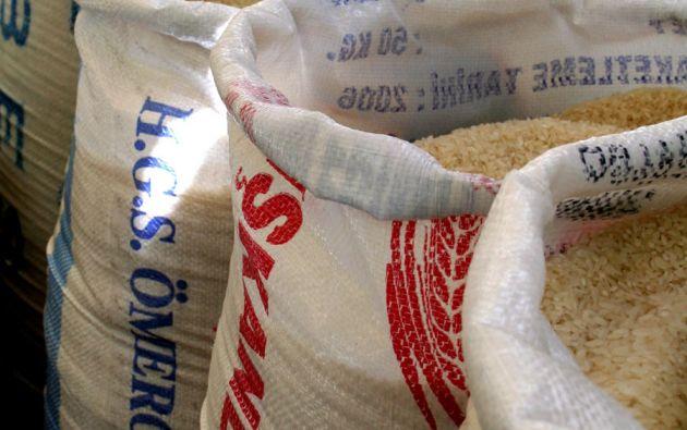 La Unidad Nacional de Almacenamiento asegura que la provisión de arroz está garantizada en el país.