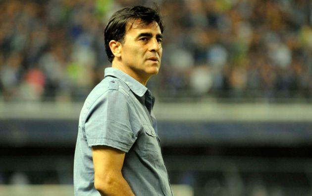 Hasta el pasado domingo, Quinteros dirigió al Club Sport Emelec, con el que logró dos campeonatos. Foto: Archivo Estadio