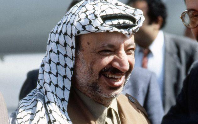 Yaser Arafat, antiguo presidente de la Autoridad Nacional de Palestina, falleció en noviembre de 2004. Foto: Archivo Vistazo