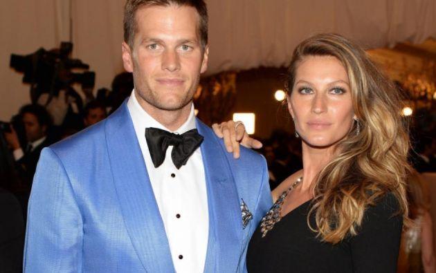 La modelo y su esposa Tom Brady.