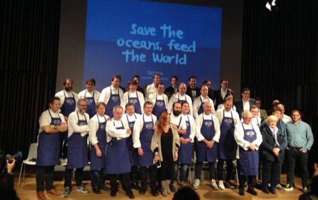La campaña busca salvar los mares y fomentar el consumo sostenible de pescado, sin agotar especies en vías de extinción.