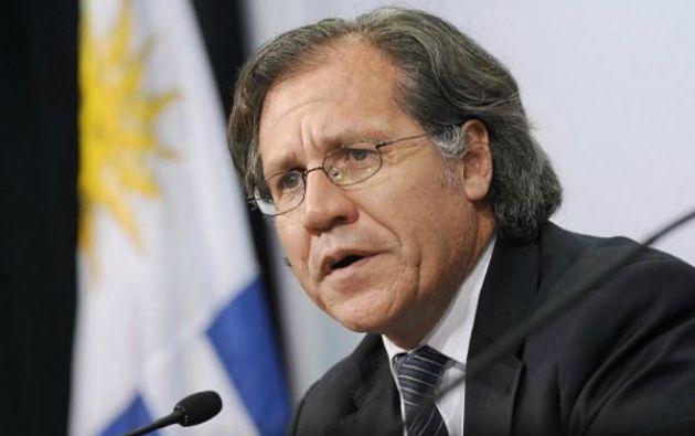 Almagro, de 51 años, sustituirá el próximo 26 de mayo al chileno José Miguel Insulza al frente de la Organización de Estados Americanos. Foto: Twitter / OEA