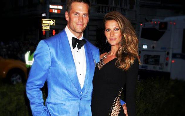 La brasileña está casada con Tom Brady, mariscal de los Patriots de Nueva Inglaterra.