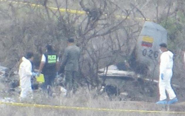 En el accidente murieron el cadete Galo Rivera y el piloto Sebastián Espinoza.