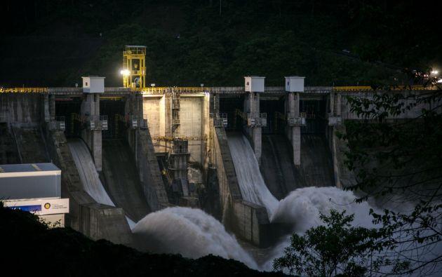 Manduriacu, construida por la brasileña Odebrecht, es la primera de un total de ocho hidroeléctricas. Fotos: Flickr / Ministerio Energía