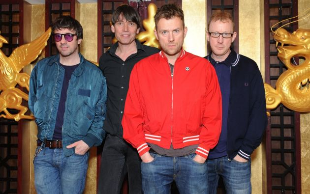 "El álbum ""The Magic Whip"" comenzó a forjarse en mayo de 2013 en la ciudad china de Hong Kong. Foto: Facebook / Blur."