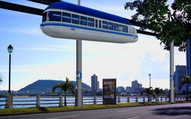 Los estudios definitivos del aerobús hasta la primera semana de mayo. Foto: Ecuavisa