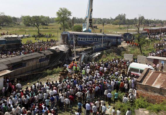 El tren Janata Express cubría el recorrido entre Dehradun, capital del vecino estado de Uttarakhand, y Varanasi. Foto: REUTERS