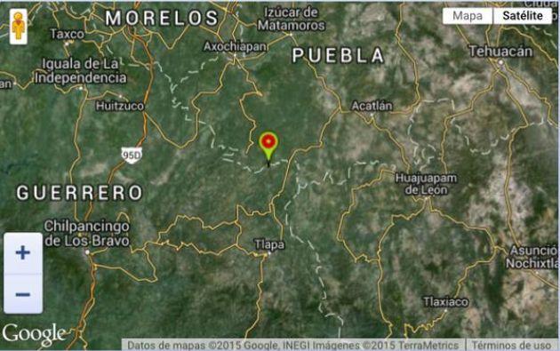 El epicentro ocurrió en los límites de Puebla y el estado de Guerrero.