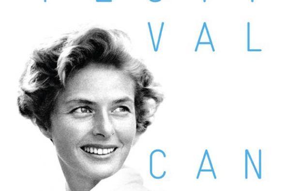 Afiche oficial de la edición 68 del Festival de Cannes, que busca rendir un homenaje a Bergman.
