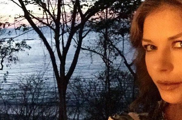 Una de las imágenes que compartió la actriz. Foto: Instagram
