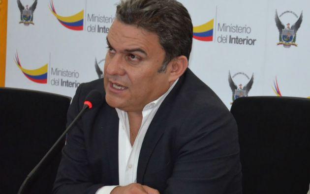 Ministro José Serrano. Foto: Ministerio del Interior